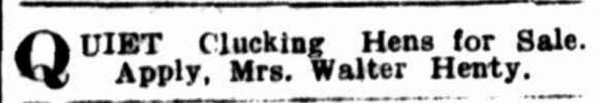 """""""Advertising"""" Hamilton Spectator (Vic. : 1870 - 1918) 23 October 1911: 5. ."""