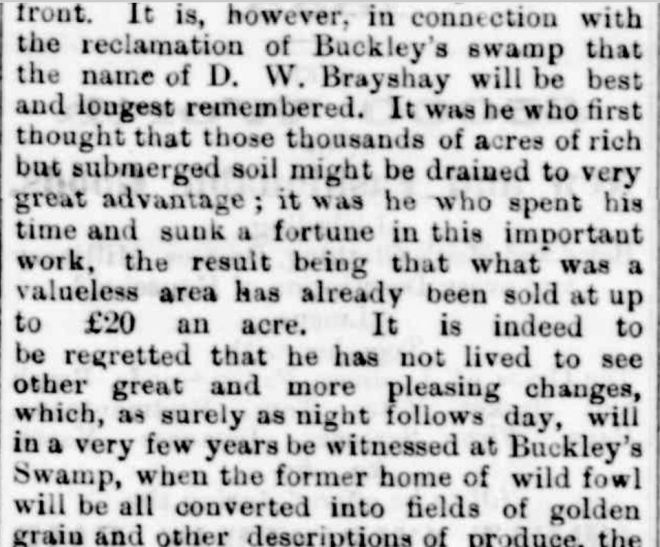 """OBITUARY."" Hamilton Spectator (Vic. : 1870 - 1918) 18 December 1888: ."