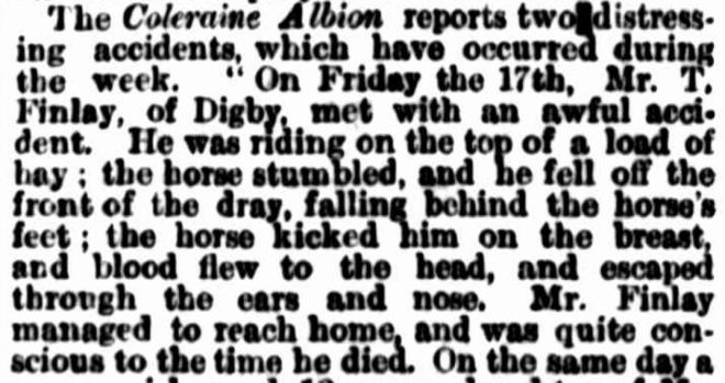 """COUNTRY NEWS."" The Argus (Melbourne, Vic. : 1848 - 1957) 28 December 1869: ."