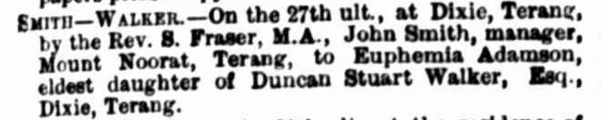 """""""Family Notices"""" The Argus (Melbourne, Vic. : 1848 - 1957) 4 May 1881: ."""