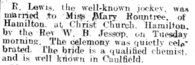 """PERSONAL."" The Ballarat Star (Vic. : 1865 - 1924) 19 June 1920: ."
