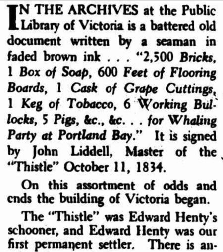 """""""LAND AT FIVE SHILLINGS AN ACRE!"""" The Argus (Melbourne, Vic. : 1848 - 1957) 20 May 1950: 4 (The Argus Week-end Magazine). Web. 21 Feb 2017 ."""