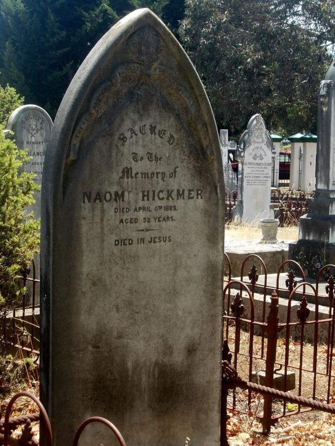 Cemeteries Western District Families
