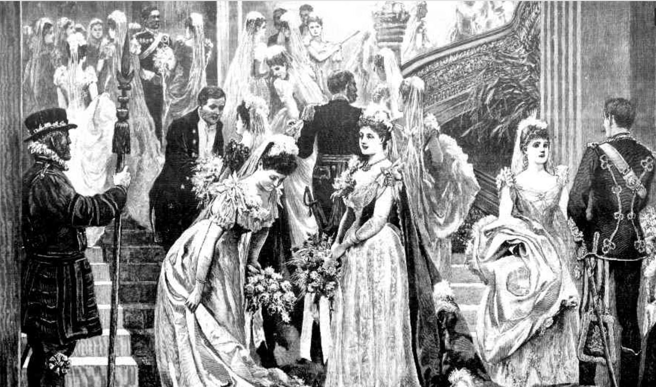 2e4f6c68d DEBUTANTS PREPARE TO BE PRESENTED TO QUEEN VICTORIA. The Sydney Mail and  New South Wales Advertiser (NSW : 1871 – 1912), p. 315.  http://nla.gov.au/nla.news- ...